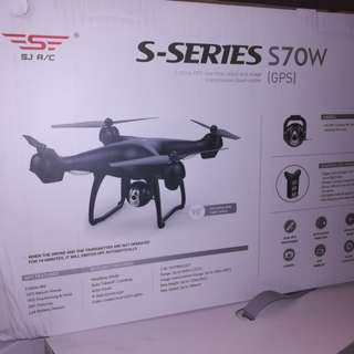 GPS Drone with HD Camera SJRC S70W