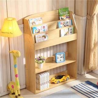 Wooden Bookshelf #001