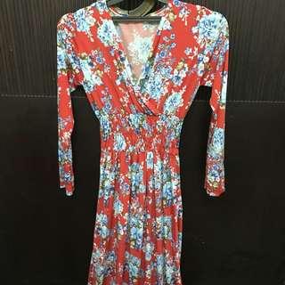 Maxi dress flower/floral maxi dress