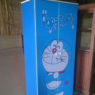 Lemari 2 pintu Doraemon