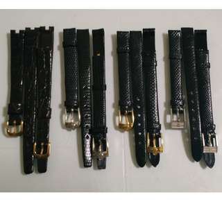9mm Ladies Branded Watch Straps Band