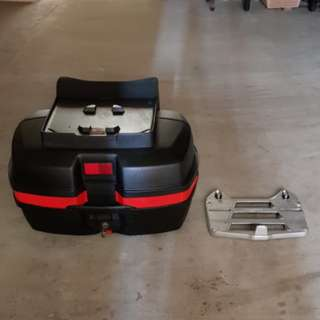 Retro Givi Motorcycle Box