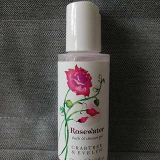 Crabtree & Evelyn Rosewater Shower Gel (50ml)
