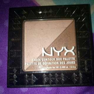 NYX cheel countour duo palette