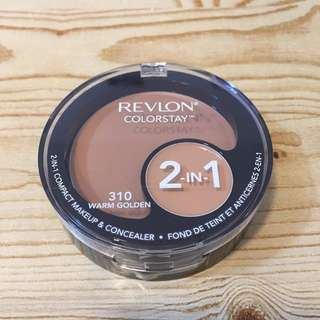 Revlon color stay 2in1 compact