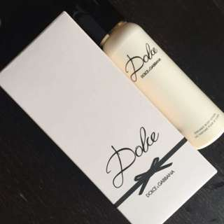 Dolce and Gabbana body lotion