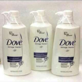 Dove Shampoo and othe beauty products