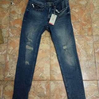 Ripped jeans skinny zara men