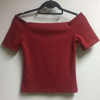 Red Off Shoulder