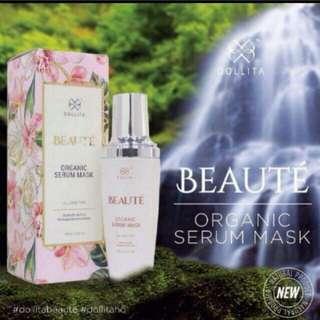 Dollita BEAUTE Organic Serum Mask - 100ml