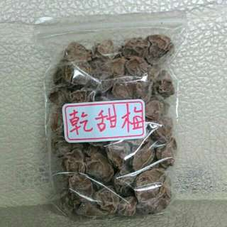 🚚 乾甜梅 (180g/包)