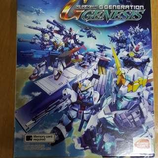 PS Vita Game - SD GUNDAM G GENERATION GENESIS (R3)