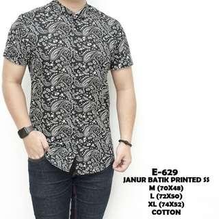 Janur batik printed ss