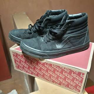 Vans s8hi full black