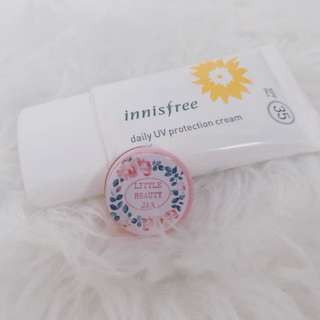 innisfree daily UV protection cream (share in jar)