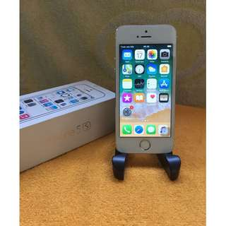iPhone 5s 32gb inter gold fullset finger print off