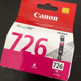 Canon CLI 726 M Magenta Printer Ink for PIXMA IP4870, IP4970, IX6560, MG5170, MG5270, MG5370, MG6170, MG6270, MG8170, MG8270, MX886, MX897