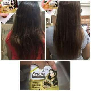 Keratin Instant Brazillian Hair Blowout