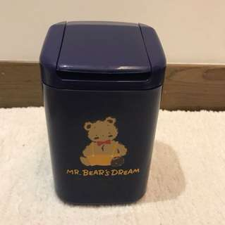 Mr bear's bear dream 小型垃圾箱