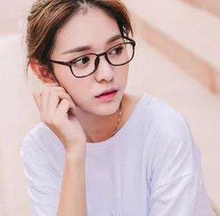 Ulzzang black frame specs glasses korean