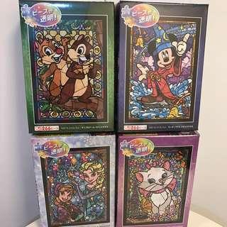 Disney puzzle 透明266塊