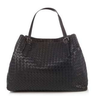 Bottega Veneta Intrecciato large leather tote ed2501a5dab03
