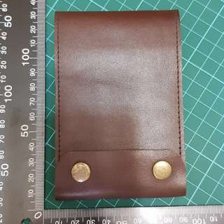 Handcrafted Leather Note Pad Cover & Cards Hilder