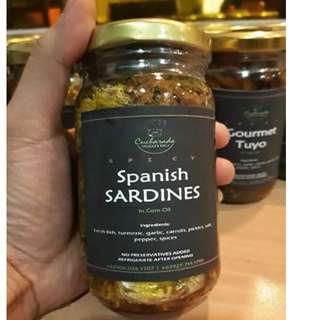 Spicy Spanish Sardines