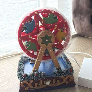 Battery operated vintage ferry wheel