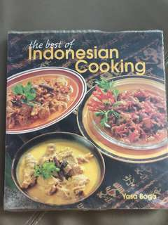 The best of Indonesian cooking cookbook recipe