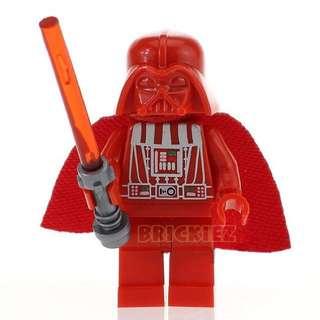 {Brickiez} Red Darth Vader Star Wars Minifigure