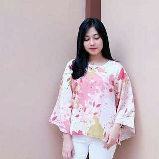 Long blouse fit to L+