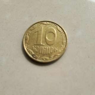 Moneda-de-Ucrania-10-Konihok-2011