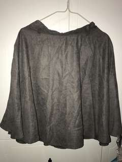 韓版 灰色裙 短裙 長裙