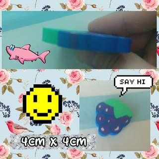 [包郵] 可愛提子造型擦子膠 erasers