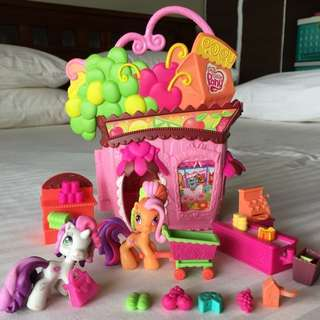 My Little Pony Supermarket Store
