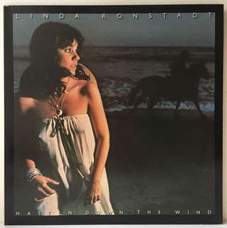 Linda Ronstadt ‎– Hasten Down The Wind (1976 USA Original in Gatefold Sleeve - Vinyl is Mint)