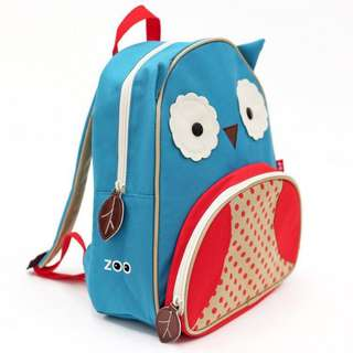 Authentic Skip Hop Zoo Packs Little Kids Backpacks - Owl