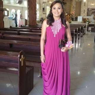 Formal Gown - Purple