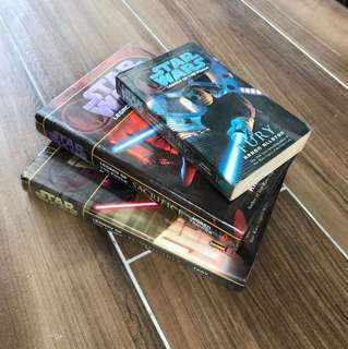 Selected Star Wars Legacy of the Force Paperback and Hardcovers