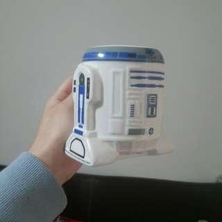 7-11 STARWARS 星際大戰 3D立體馬克杯 R2-D2