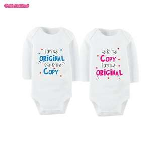 Twins Baby Romper 1