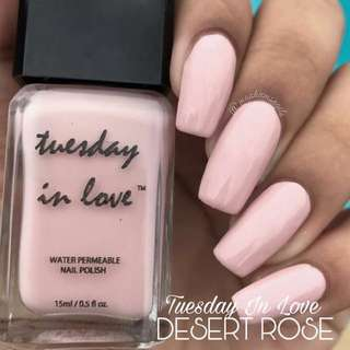 Tuesday in Love code Desert Rose (HALAL & Water Permeable Nail Polish)
