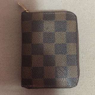Genuine Louis Vuitton Damier Zippy Coin Purse