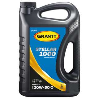 UMW GRANTT STELLAR 1000 20W-50 PREMIUM MINERAL ENGINE OIL