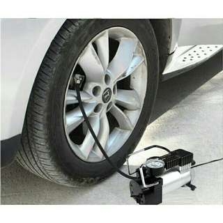 🔥RS🔥Heavy Duty Fast Inflating Car Vehicle Metal Tyre Inflator Air Compressor Pump