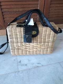Egoist basket bag / egoist picnic bag