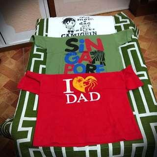 Souvenier T Shirts -- 3 for Php90.00