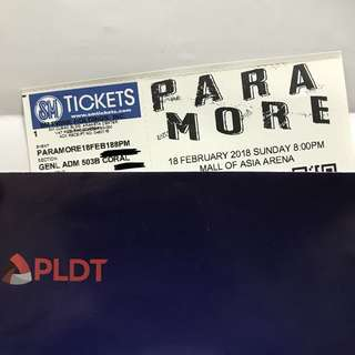 Paramore Four MNL (GEN AD)