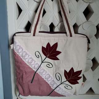 Handmade Flower Bag